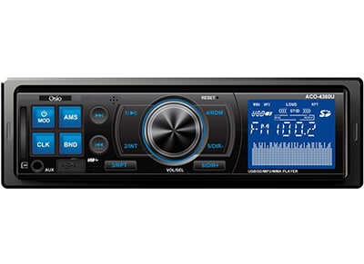 Car Audio Osio ACO-4360 - Radio/USB/SD ήχος   car audio   radio cd usb mp3