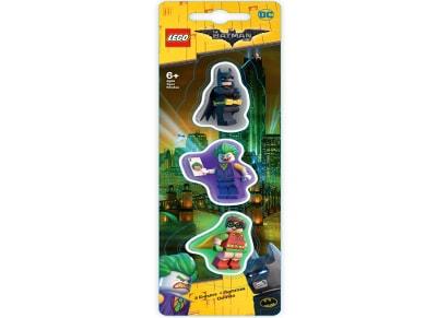 Γόμα Lego 3 Τεμάχια - Batman