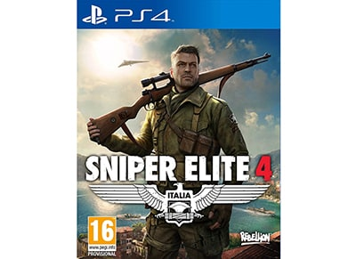 PS4 Used Game: Sniper Elite 4 gaming   used games   ps4 used