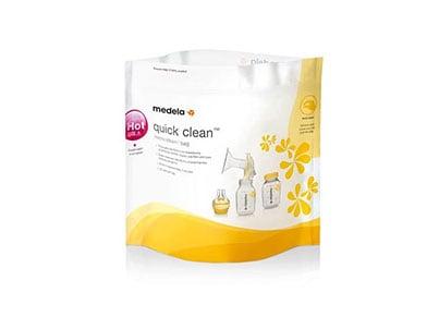 Σακουλάκια Αποστείρωσης Φούρνου Μικροκυμάτων Quick Clean Medela - 5 Τεμάχια