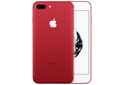 4G Smartphone Apple iPhone 7 Plus 128GB Product (RED) - Special Edition