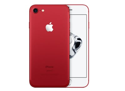 4G Smartphone Apple iPhone 7 256GB Product (RED) - Special Edition