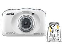 Compact Nikon Coolpix W100 Αδιάβροχη & Τσάντα Μεταφοράς - Λευκό