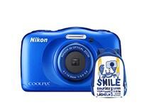 Compact Nikon Coolpix W100 Αδιάβροχη & Τσάντα Μεταφοράς - Μπλε