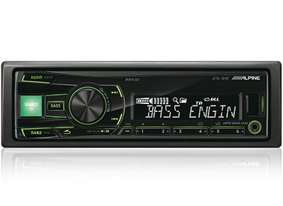 Car Audio Alpine UTE-81R - Radio/USB