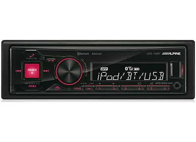 Car Audio Alpine UTE-72BT - Radio/USB/Bluetooth