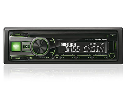 Car Audio Alpine CDE-190R - Radio/USB/CD