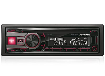 Car Audio Alpine CDE-192R - Radio/USB/CD