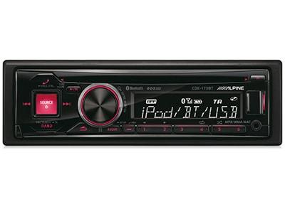 Car Audio Alpine CDE-173BT - Radio/USB/CD/Bluetooth