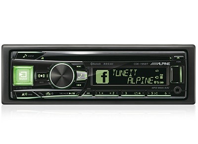 Car Audio Alpine CDE-195BT - Radio/USB/CD/Bluetooth