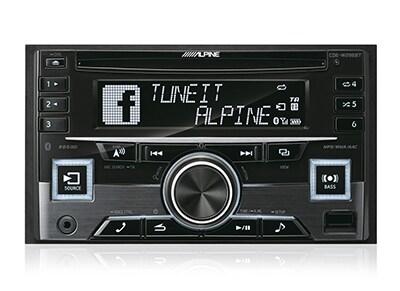 Car Audio Alpine CDE-W296BT - Radio/USB/CD