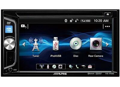 Car Audio Alpine IVE-W560BT - Radio/CD/DVD/Bluetooth