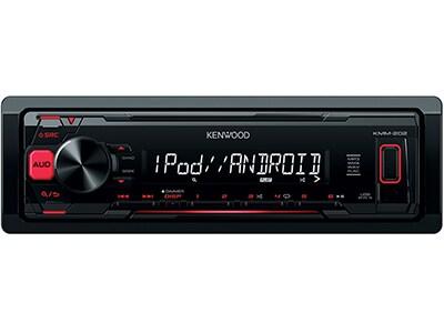 Car Audio Kenwood KMM-202 - Radio/USB