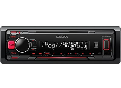 Car Audio Kenwood KMM-203 - Radio/USB