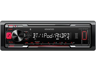 Car Audio Kenwood KMM-BT203 - Radio/USB/Bluetooth