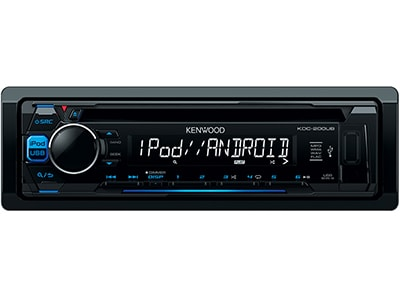 Car Audio Kenwood KDC-200UB - Radio/USB/CD