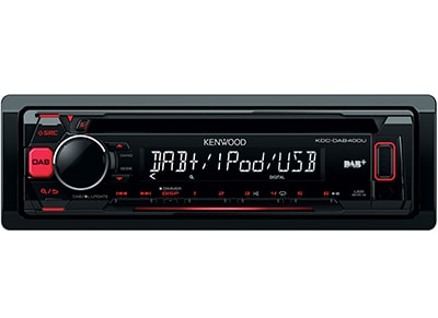 Car Audio Kenwood KDC-DAB400U - Radio/USB/CD