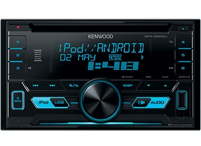 Car Audio Kenwood DPX-3000U - Radio/USB/CD