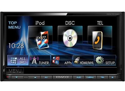 Car Audio Kenwood DDX-7015BT - Radio/USB/CD/DVD