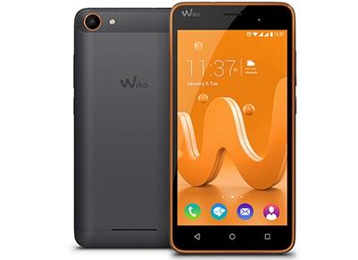 Smartphone Wiko Jerry - Dual Sim 8GB Μαύρο/Πορτοκαλί