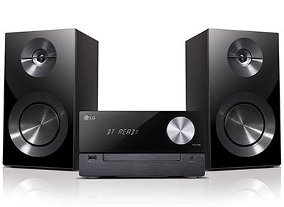 LG Micro HiFi CM2460 Bluetooth Μαύρο