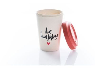 Κούπα BambooCup - Happy Calligraphy
