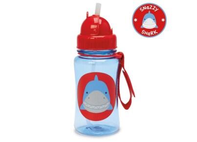 Παιδικό Ποτηράκι με Καλαμάκι - Zoo Straw Bottle Skip Hop Καρχαρίας για το φαγητό   αξεσουάρ φαγητού