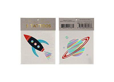 Tatoo Meri-Meri Space Join The Party