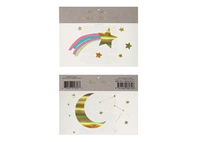 Tatoo Meri-Meri  Rainbow Shooting Star