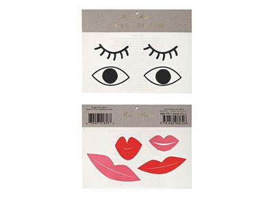 Tatoo Meri-Meri Eyes & Lips Join The Party