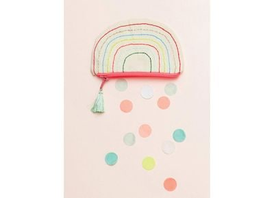 Πορτοφόλι Meri-Meri Rainbow Join The Party