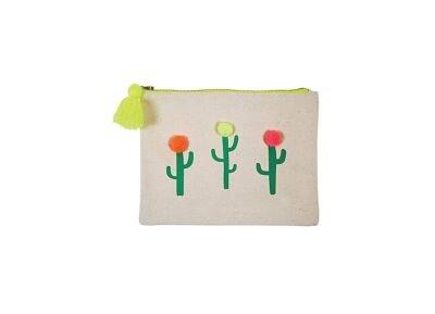 Πορτοφόλι Meri-Meri Pom Pom Cactus Large Canvas