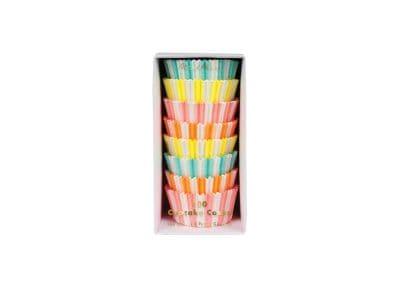 Cupcake Cases Meri-Meri Νέον Χρώματα - Σετ 100 Τεμάχια