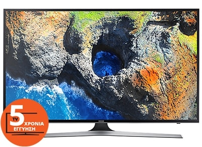 """Τηλεόραση Samsung UE65MU6102KXXH 65"""" Smart LED Ultra HD"""