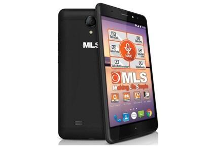 "Smartphone MLS Alu 5.5"" Dual Sim 8GB Μαύρο"
