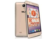 """MLS Alu 5.5"""" 8GB Χρυσό Dual Sim Smartphone"""