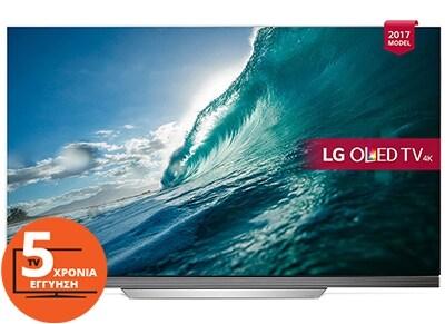 """Τηλεόραση 65"""" LG OLED65E7V Smart OLED Ultra HD"""