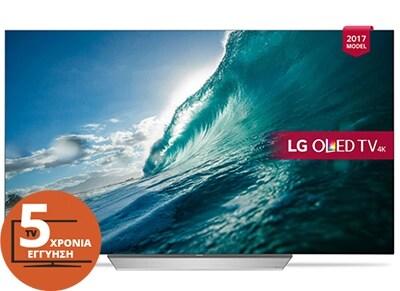 """Τηλεόραση 65"""" LG OLED65C7V Smart OLED Ultra HD"""