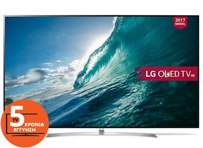 """Τηλεόραση 65"""" LG OLED65B7V  Smart OLED Ultra HD"""