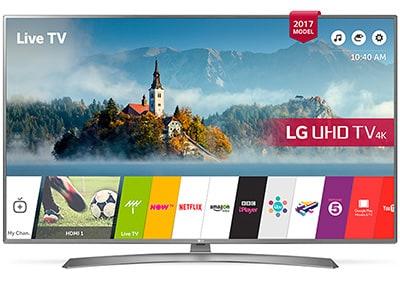"""Τηλεόραση 65"""" LG 65UJ670V Smart LED Ultra HD"""