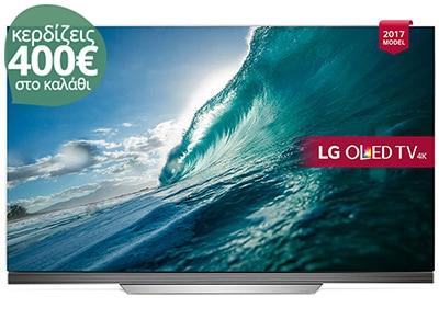 """4K Τηλεόραση 55"""" LG OLED55E7N  Smart OLED Ultra HD"""