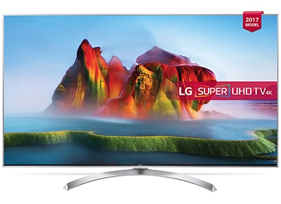 "4K Τηλεόραση 55"" LG 55SJ810V Smart LED Super Ultra HD"