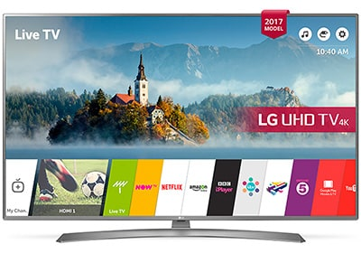 "4K Τηλεόραση 55"" LG 55UJ670V Smart LED Ultra HD"