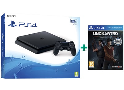 Sony PlayStation 4 - 500GB Slim D Chassis & 2ο Dualshock 4 v2