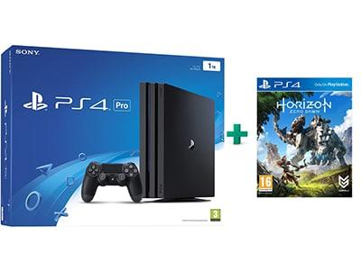Sony PlayStation 4 Pro - 1TB & Horizon: Zero Dawn
