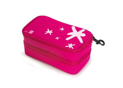 Τσαντάκι Φαγητού - Iris Barcelona Barcelona - Portabocatas Double - Ροζ gadgets   funky stuff   lunchboxes   αξεσουάρ