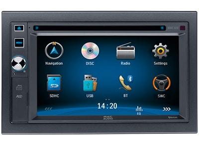 Car Audio Mac Audio MAC 620 - Radio/USB/CD/DVD/GPS