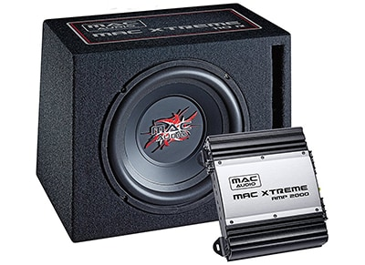 Subwoofer & Ενισχυτής Mac Audio - Mac Xtreme 2000 Car-Hifi Package