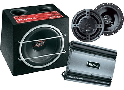 Subwoofer & Ενισχυτής Mac Audio - Mac Xtreme 4000 Car-Hifi Package