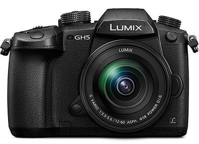 Mirrorless Panasonic Lumix DC-GH5MEG-K & Φακός G VARIO 12-60mm - Μαύρο φωτογραφία   βίντεο   dslr